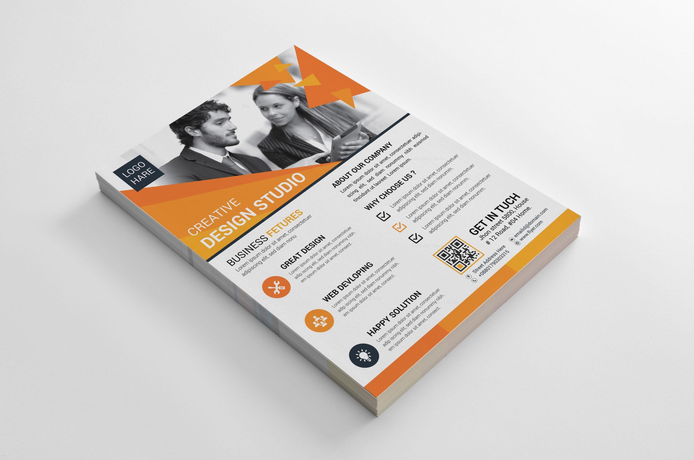 Azure Flyer Template | Azure Creative Business Flyer Design Template 002020 Template Catalog