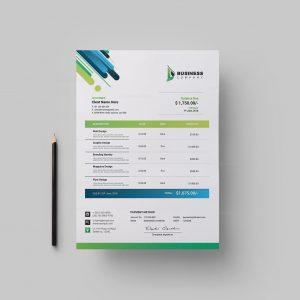 Best Corporate Invoice Design Template