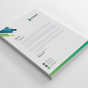Best Corporate Letterhead Design Template