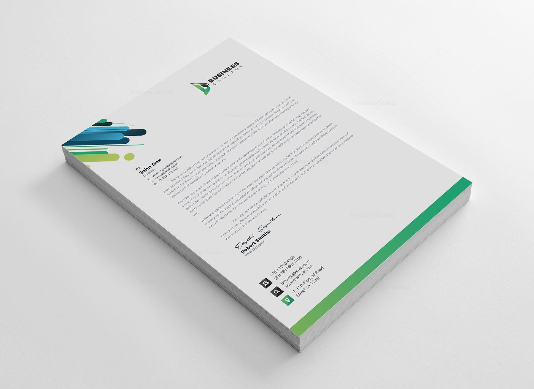 Best corporate letterhead design template 002165 template catalog best corporate letterhead design template 2 spiritdancerdesigns Images