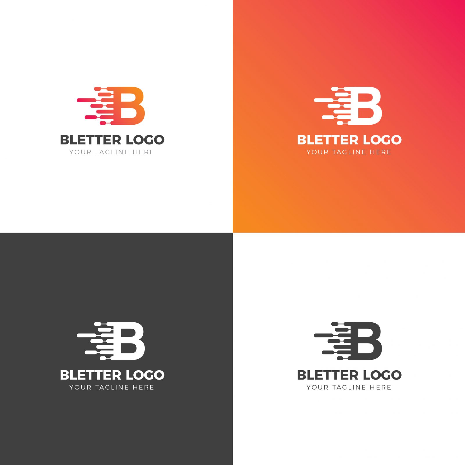 better creative logo design template 002030