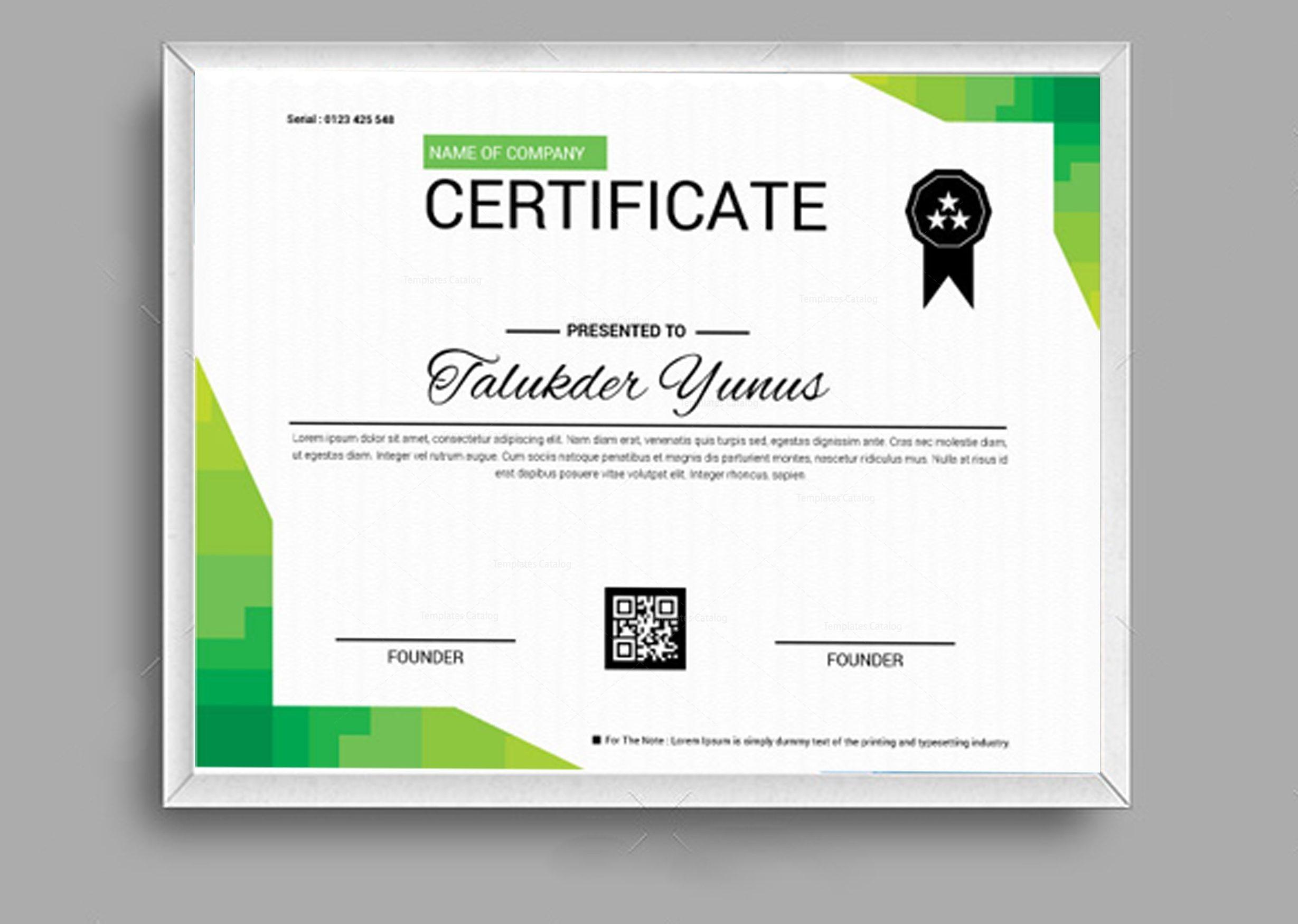 classic certificate design template 002050