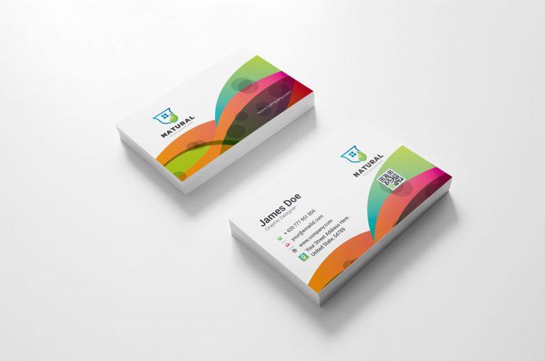 Colorful Creative Business Card Design 2