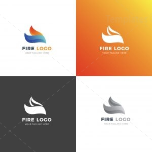 Fire Creative Logo Design Template