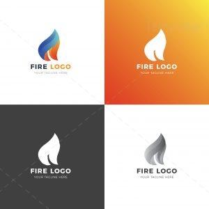 Fire Professional Logo Design Template