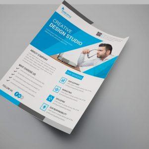 Folsom Creative Business Flyer Design Template