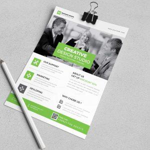 Granite Creative Corporate Flyer Design Template