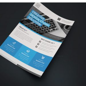 Knight Creative Business Flyer Design Template