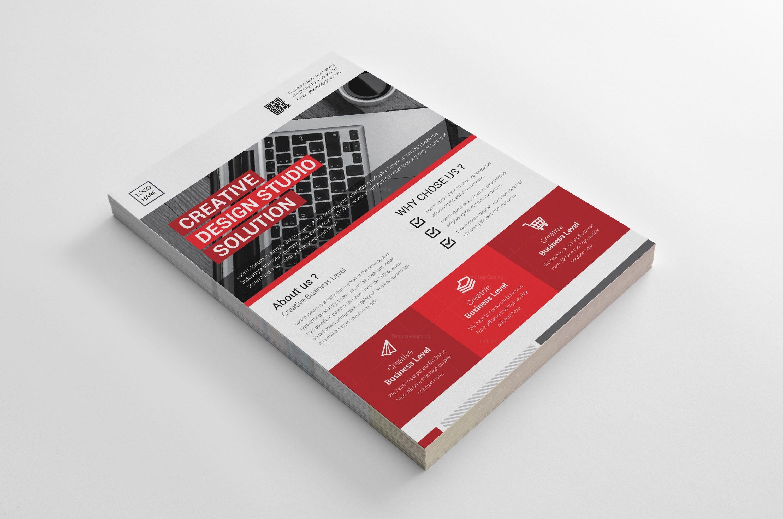 knight creative business flyer design template 002027 template catalog