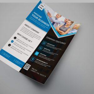 Legend Modern Business Flyer Design Template