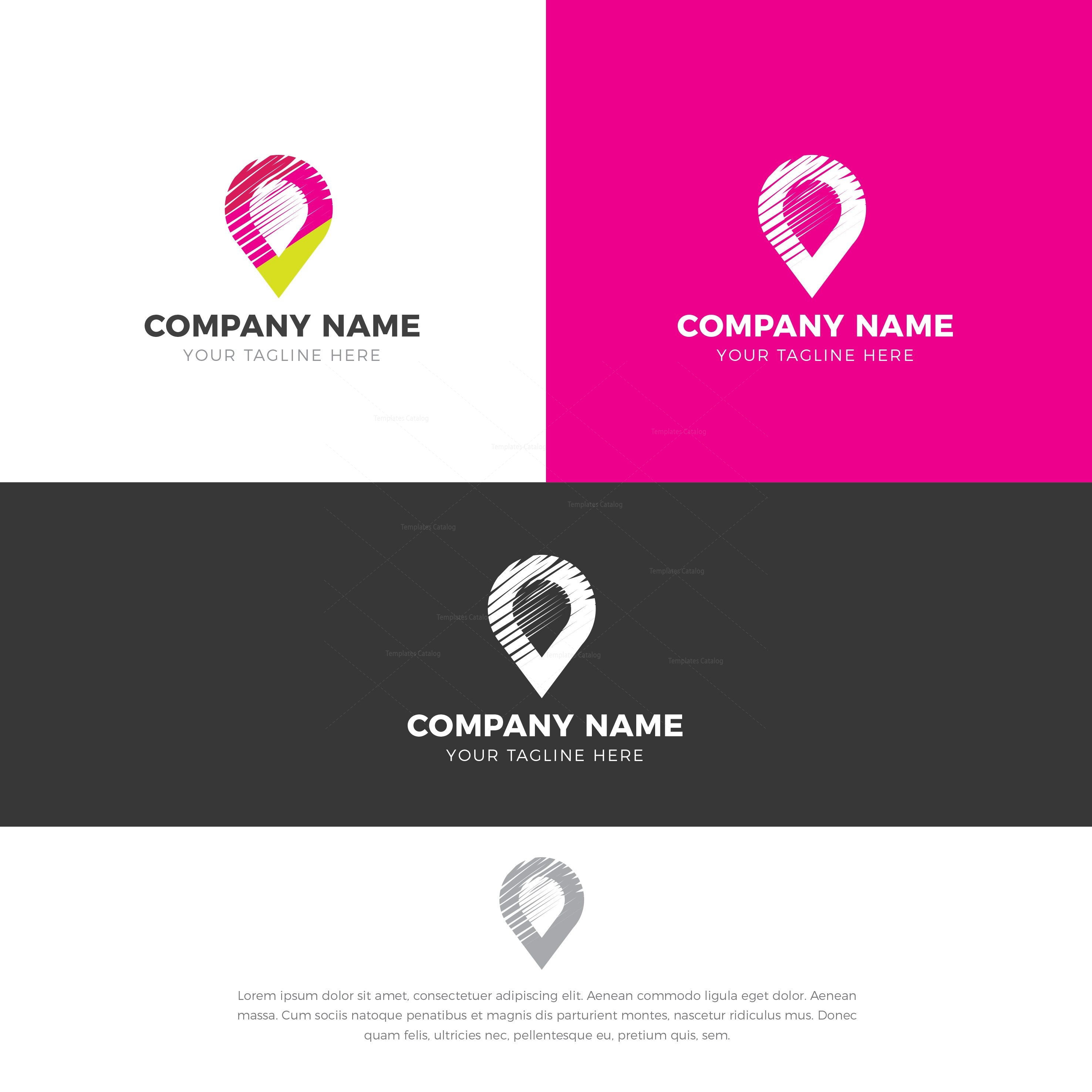 Location Logo Design Template
