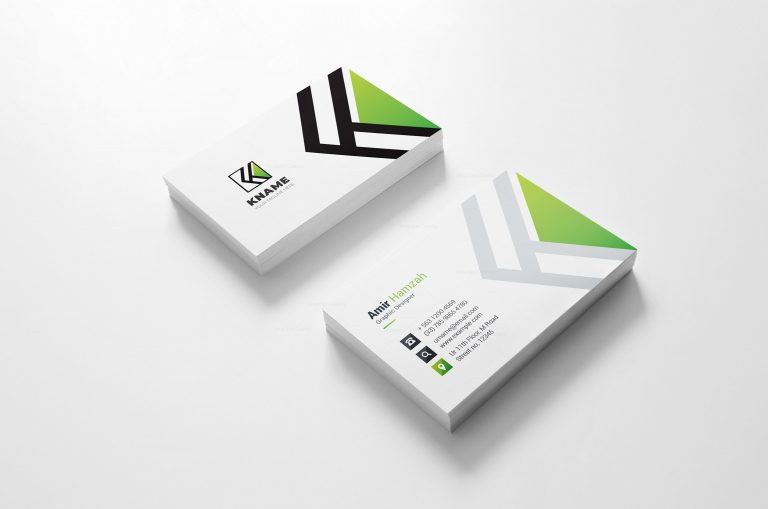 Name Creative Business Card Design 3