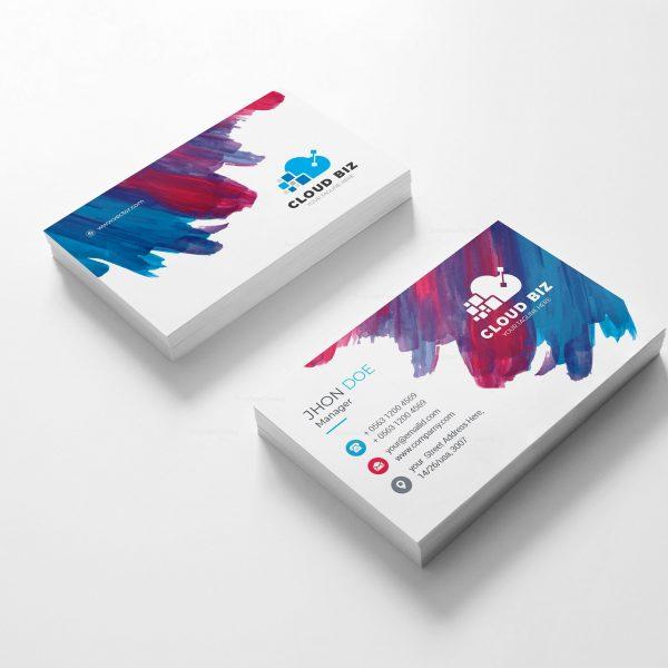 Paint Creative Business Card Design 2