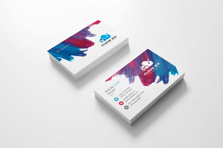 Paint Creative Business Card Design 2