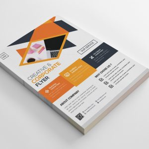 Pompano Creative Business Flyer Design Template