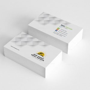 Real Estate Creative Business Card Design Template