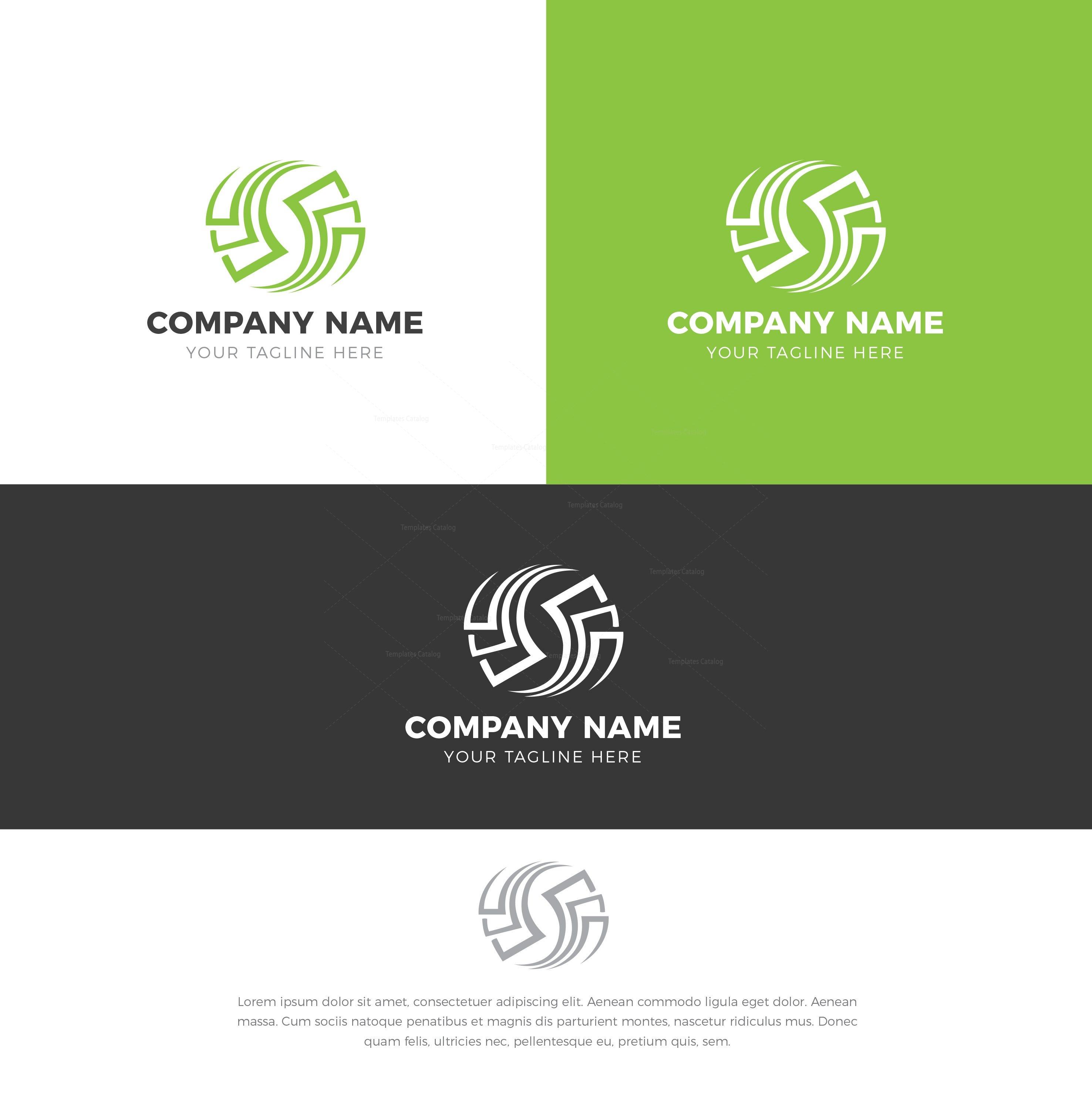 Recycling Logo Design Template