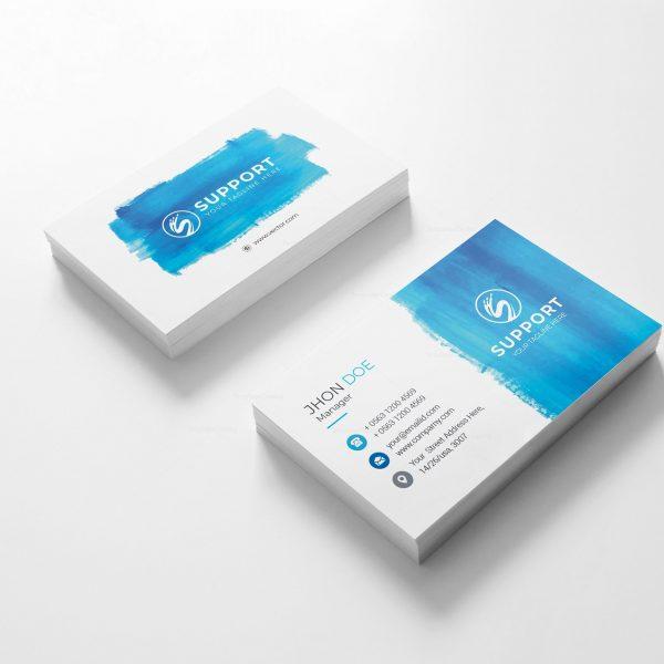 Serenity Creative Business Card Design 2
