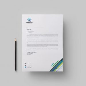 Smart Corporate Letterhead Design Template