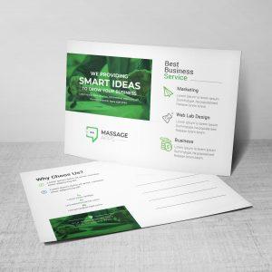 Smart Corporate Postcard Design Template