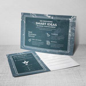 Stars Corporate Postcard Design Template