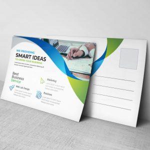 Stunning Corporate Postcard Design Template