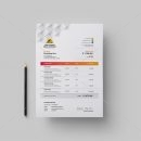 Sun Elegant Creative Invoice Design Template