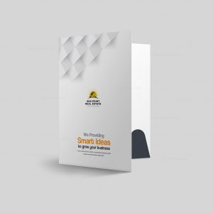 Sun Presentation Folder Design Template