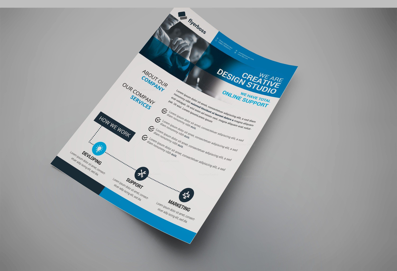 tampa creative business flyer design template 002023 template catalog
