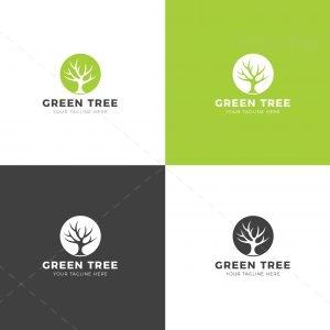 Tree Creative Logo Design Template