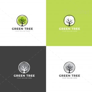 Tree Professional Logo Design Template
