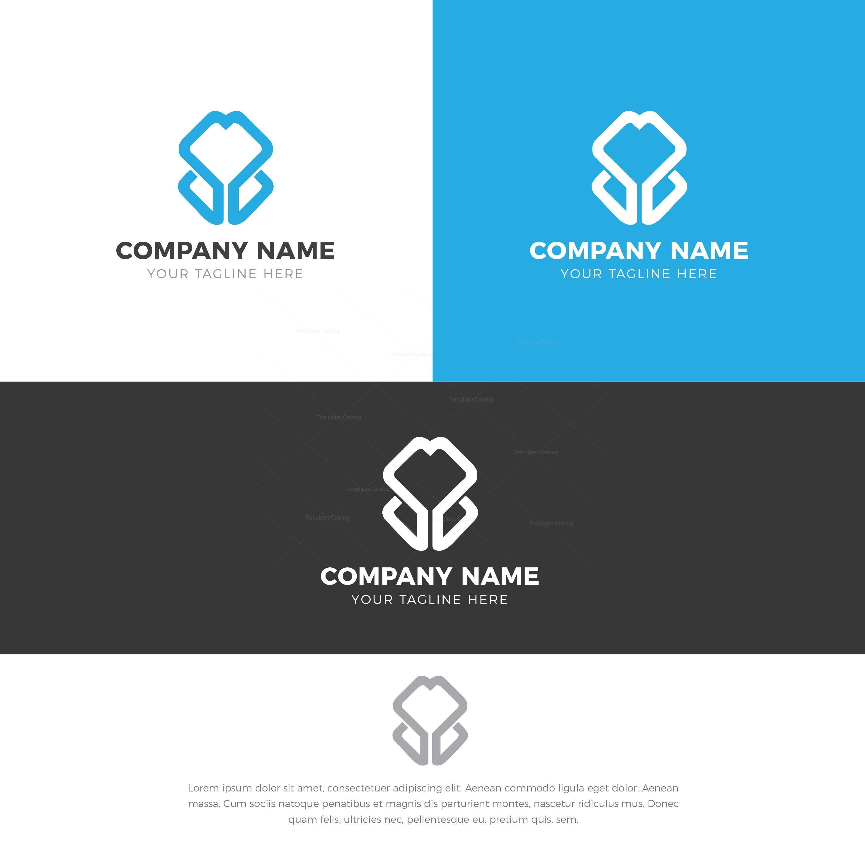 Tulip Creative Logo Design Template