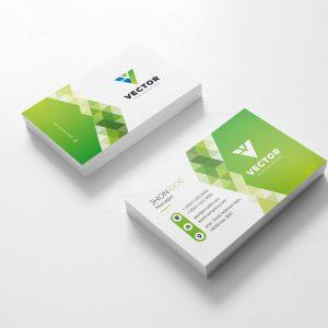 Vector Creative Business Card Design