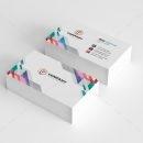 Vibrant Creative Business Card Design 1
