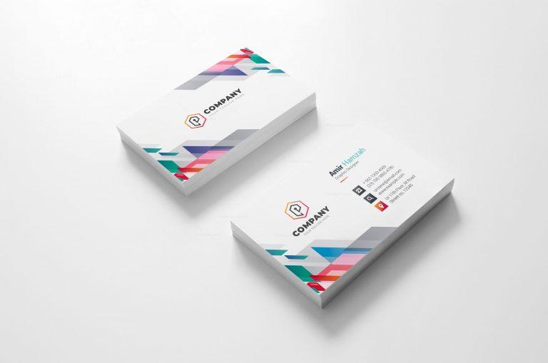 Vibrant Creative Business Card Design 2