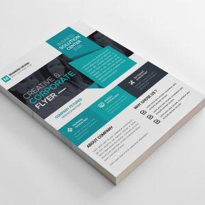 Vista Creative Business Flyer Design Template