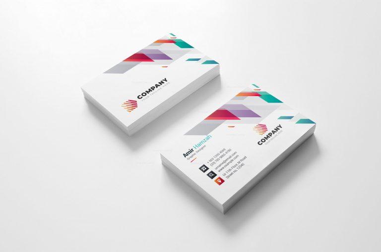 Vivid Creative Business Card Design 2