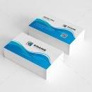 Wave Creative Business Card Design 1
