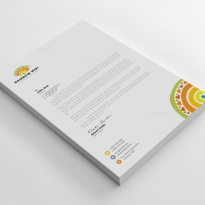 Wifi Corporate Letterhead Design Template