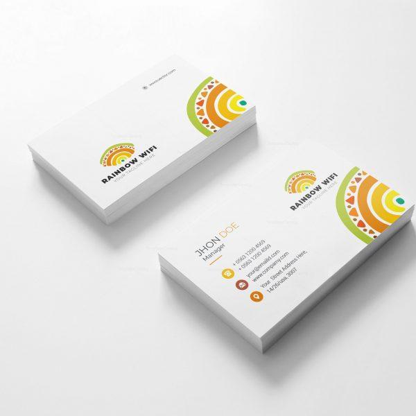 Wifi Creative Business Card Design 2
