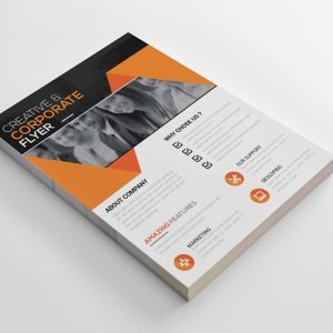 Yolo Creative Business Flyer Design Template