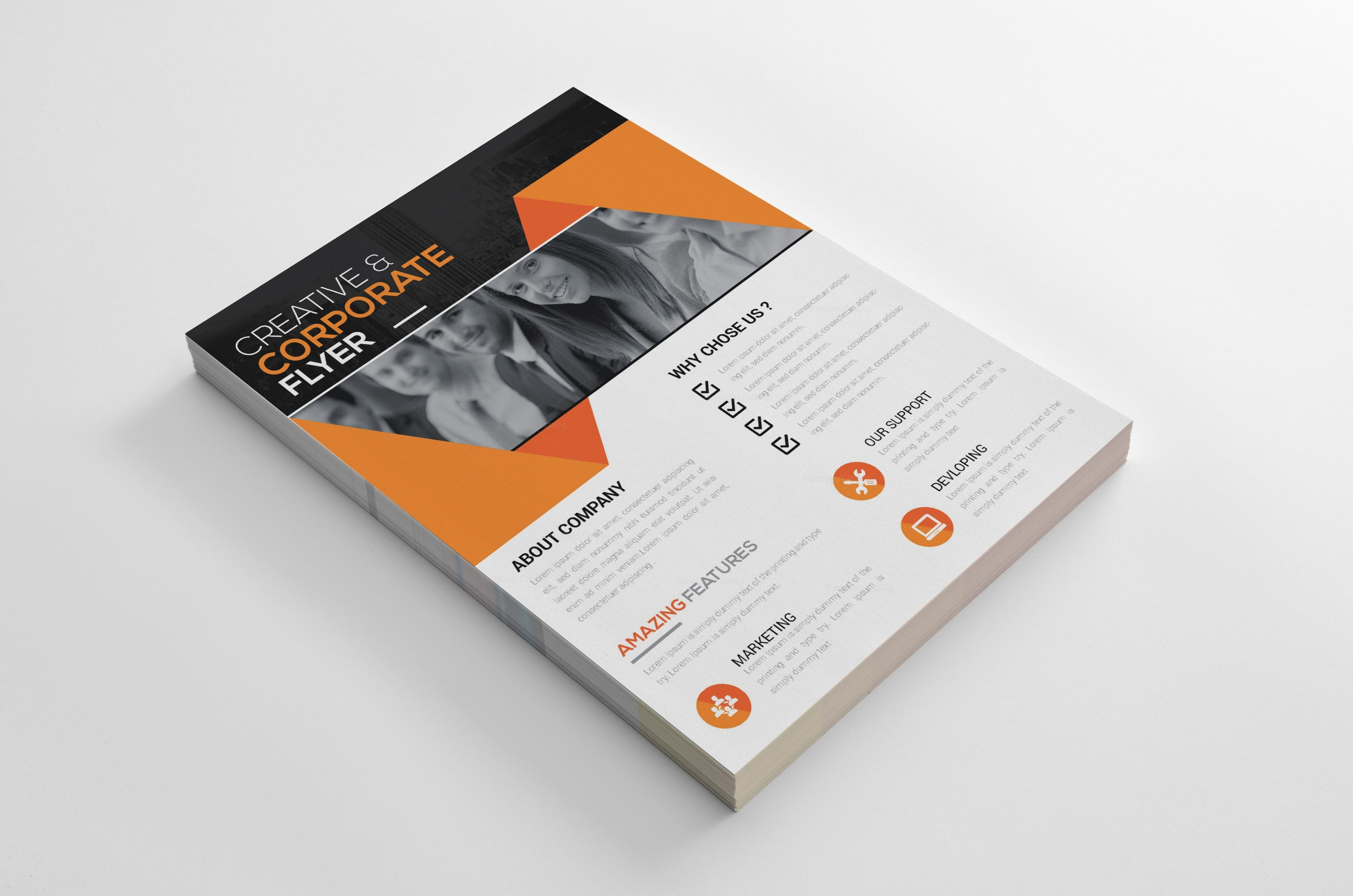 yolo creative business flyer design template 001996 template catalog