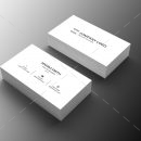 Architect Minimal Business Card Design 1