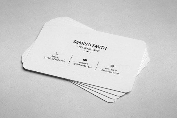 Architect Minimal Business Card Design