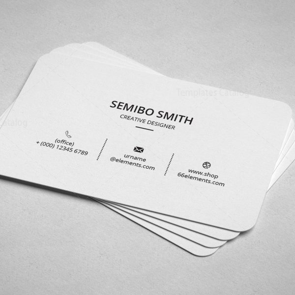 Architect Minimal Business Card Design 4