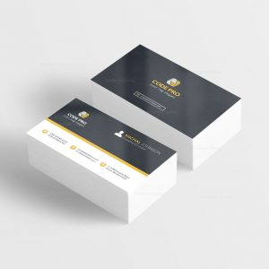 Automotive Stylish Business Card Design