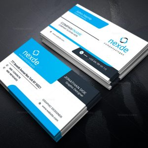 Chef Modern Business Card Design