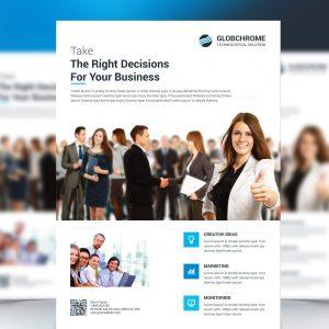 Classy Corporate Business Flyer Design