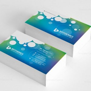 Commercial Business Card Template