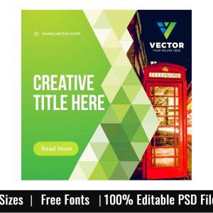 Creative Company Web Banner Set